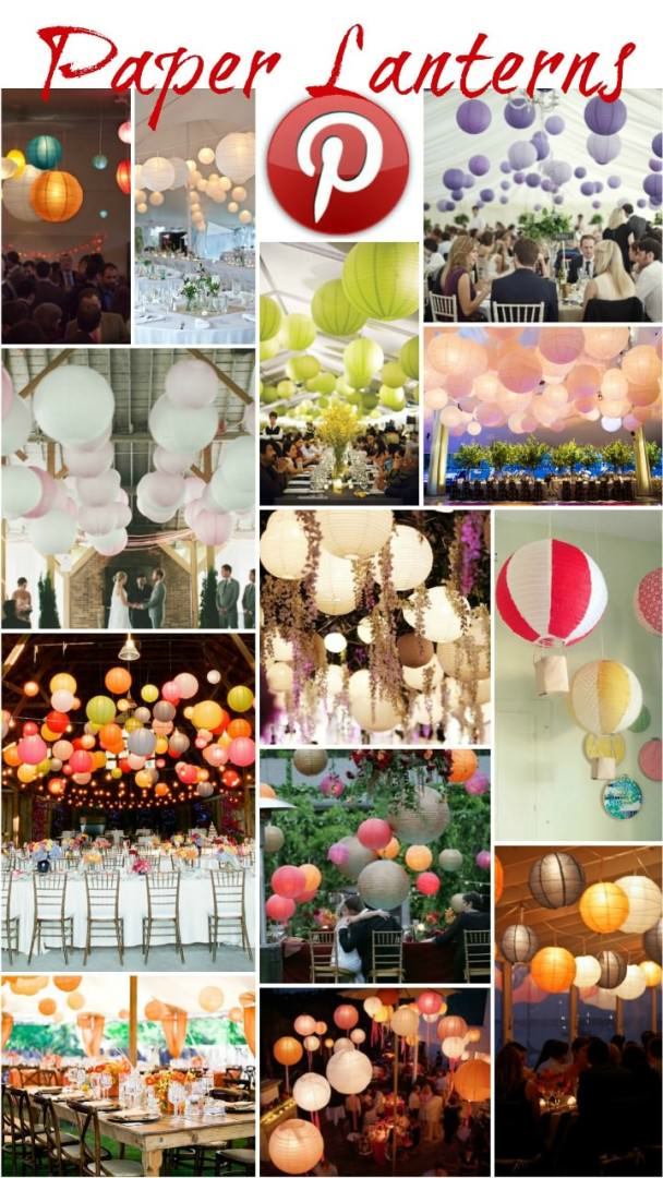 Boho Pins - paper lanterns