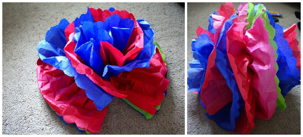 Diy tutorial tissue paper flowers boho weddings your very own tissue paper flowers once youve made a few youll become a lot faster and you dont have to stop at wedding flowers this diy idea would mightylinksfo