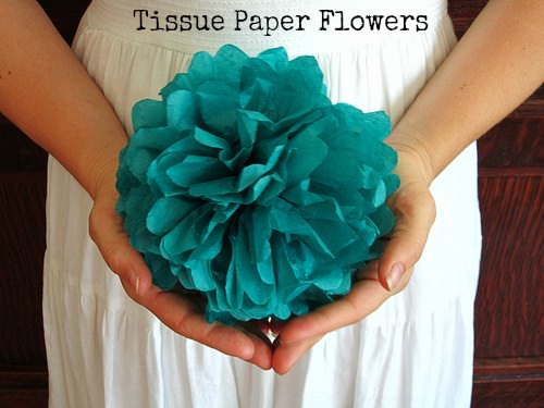 Бумажные цветы из гофрированной бумаги фото