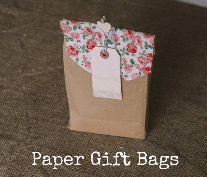 Cute Wedding Gift Bag Ideas : DIY Tutorial: Paper Gift BagsBoho WeddingsUK Wedding Blog