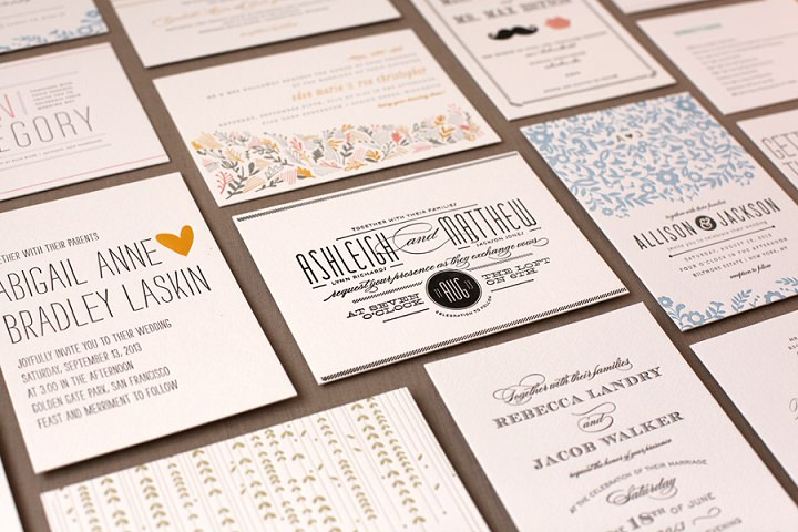 Minted Wedding Stationery - Boho Weddings