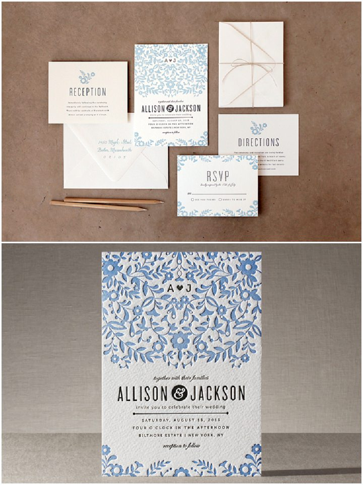 Minted Wedding Stationery