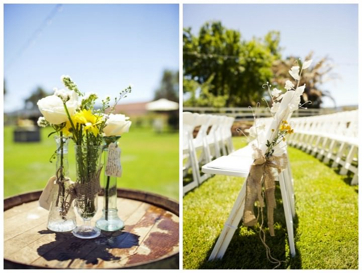 15 DIY Outdoor Wedding in Sunny California