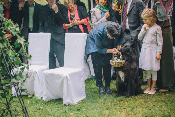 Ring-Bearing Dog.