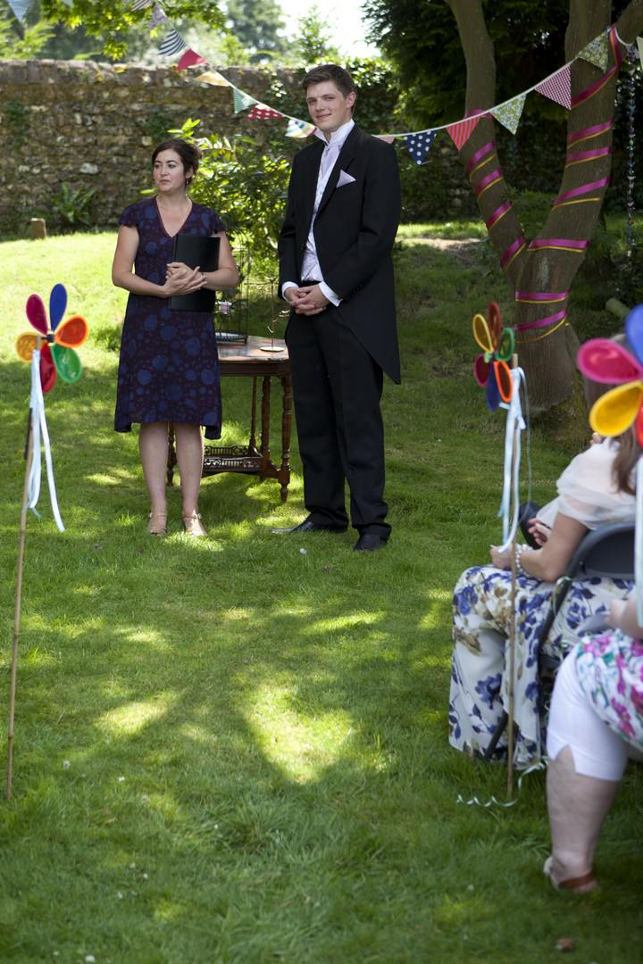 Humanist Wedding at Pendell House in Redhil Surry