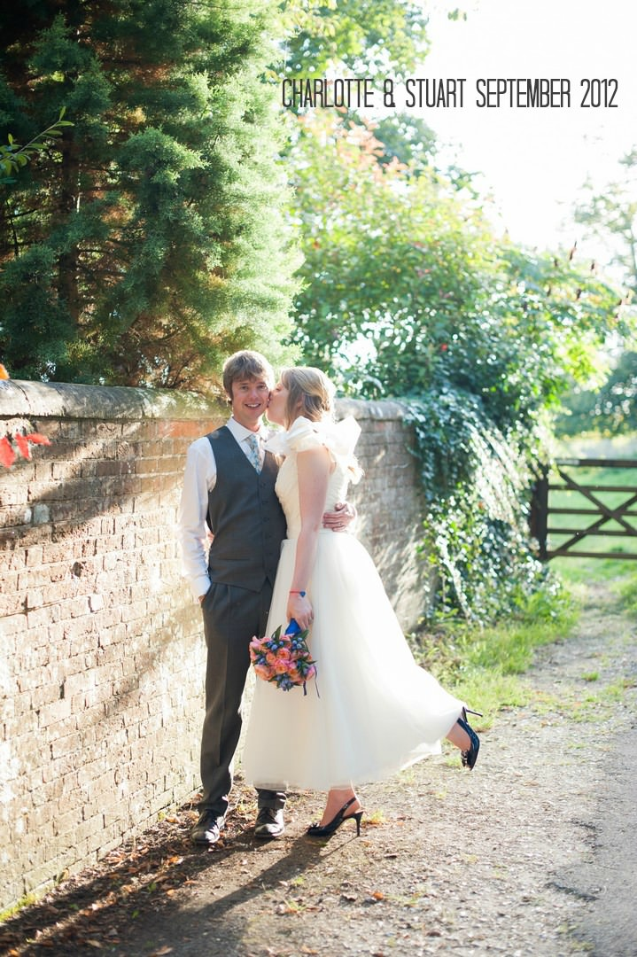 Sunny Village Wedding with Lots of Homemade Details