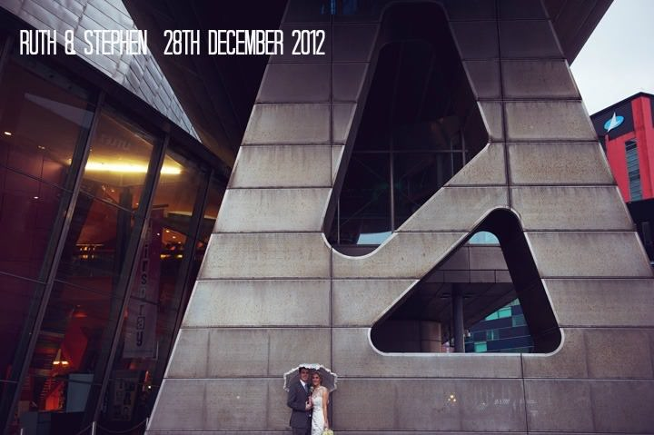 Modern Minimalistic Manchester Wedding at the Lowry