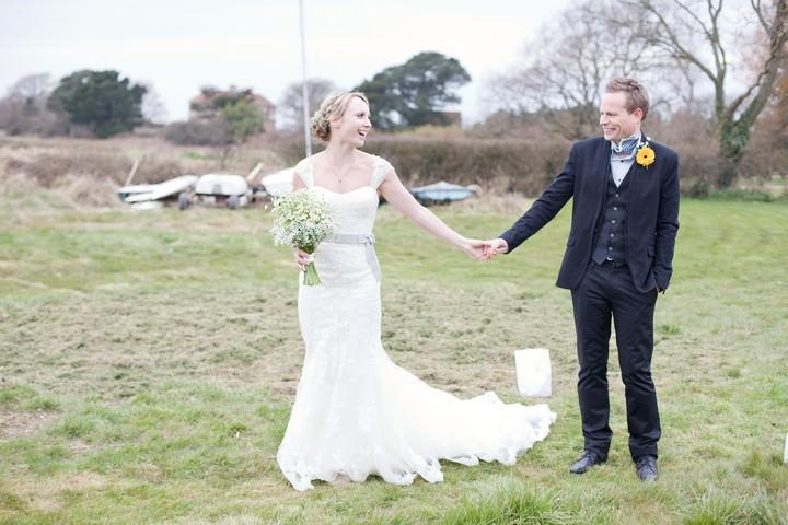 West Sussex wedding couple