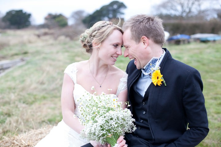West Sussex wedding couple