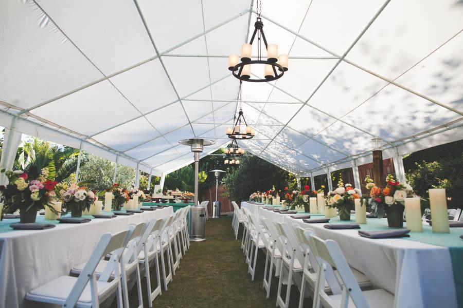 Backyard DIY Wedding in San Diego - Boho Weddings
