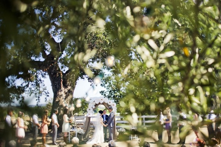 23 DIY Outdoor Wedding in Sunny California