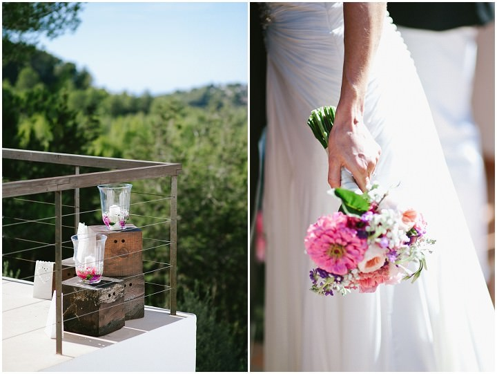 wedding details at  an Ibiza wedding