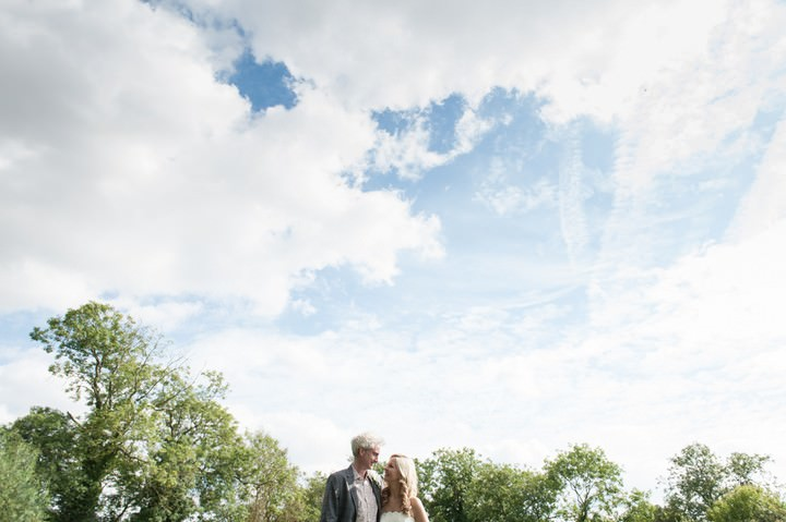 South Leicestershire wedding couple on their wedding day