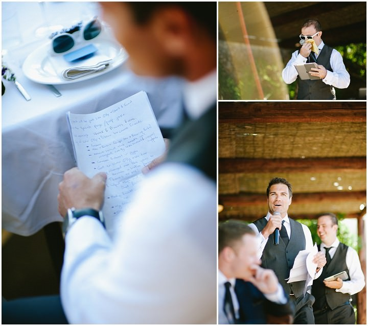 wedding speeches at  an Ibiza wedding