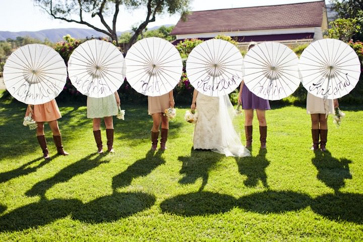 27 DIY Outdoor Wedding in Sunny California
