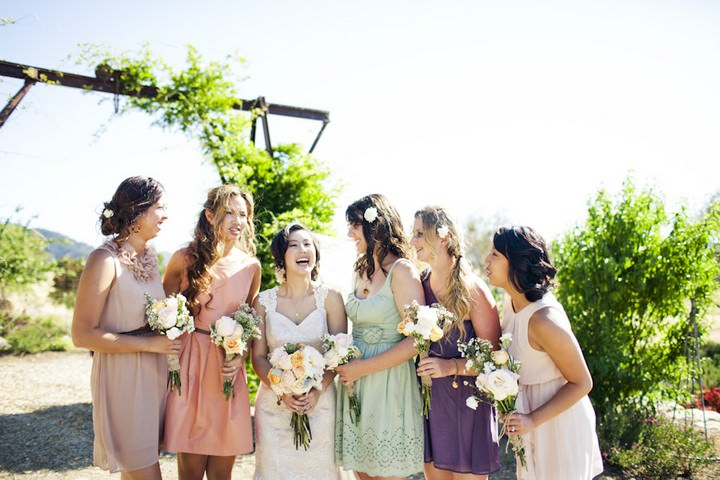 28 DIY Outdoor Wedding in Sunny California