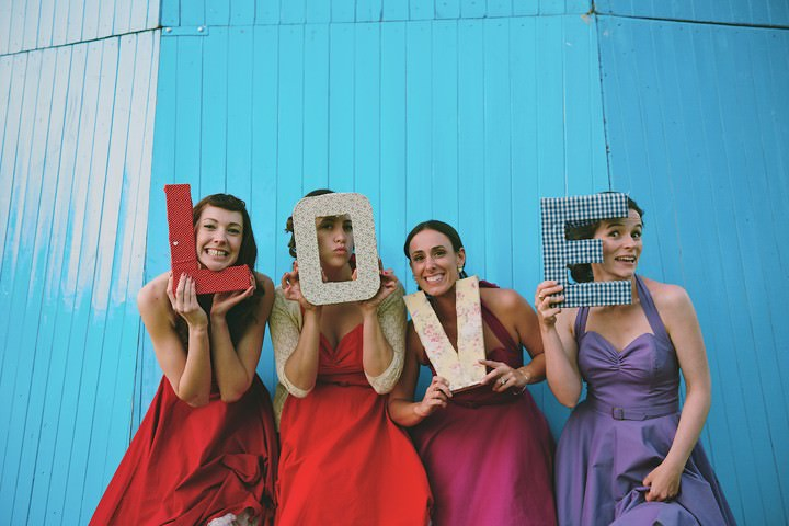 Festival Style Wedding Complete with Helta Skelta and Silent Disco