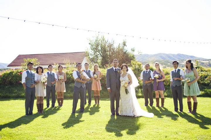 30 DIY Outdoor Wedding in Sunny California