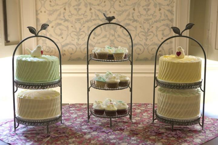 Hummingbird Bakery  wedding cake