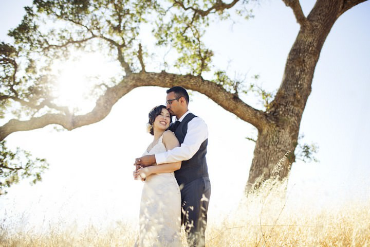32 DIY Outdoor Wedding in Sunny California