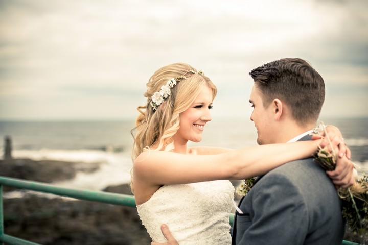 32 Lighthouse Wedding with a Rustic Beach Theme
