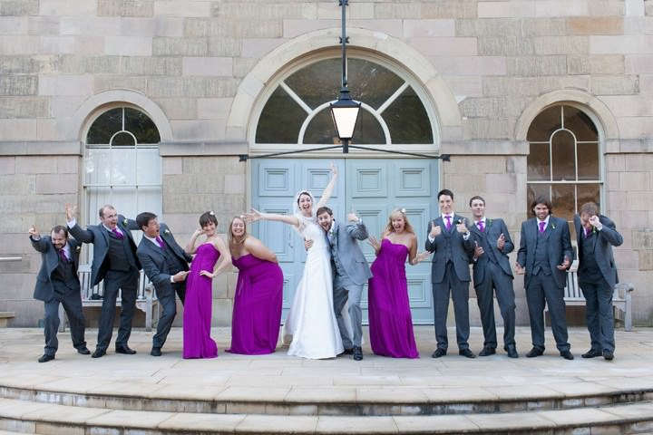 wedding at the Devonshire Dome, Buxton