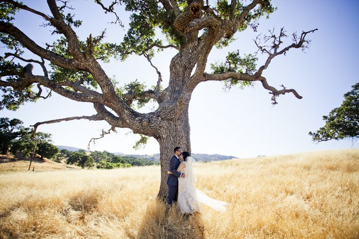 34 DIY Outdoor Wedding in Sunny California