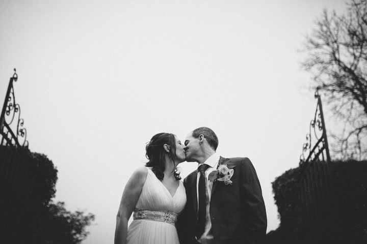 Kent wedding couple