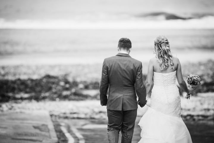 36 Lighthouse Wedding with a Rustic Beach Theme