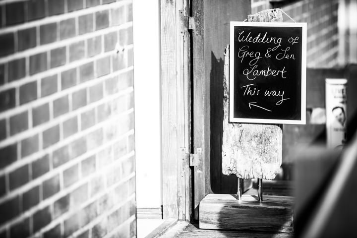 wedding reception at  the Boardwalk Café at Whitley Bay