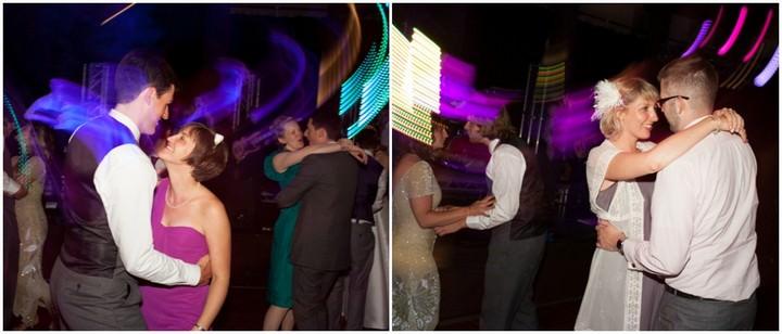 dancing at a Buxton wedding