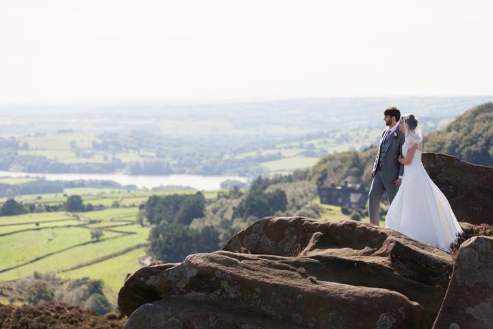 Peak District Wedding with Lots of DIY Details