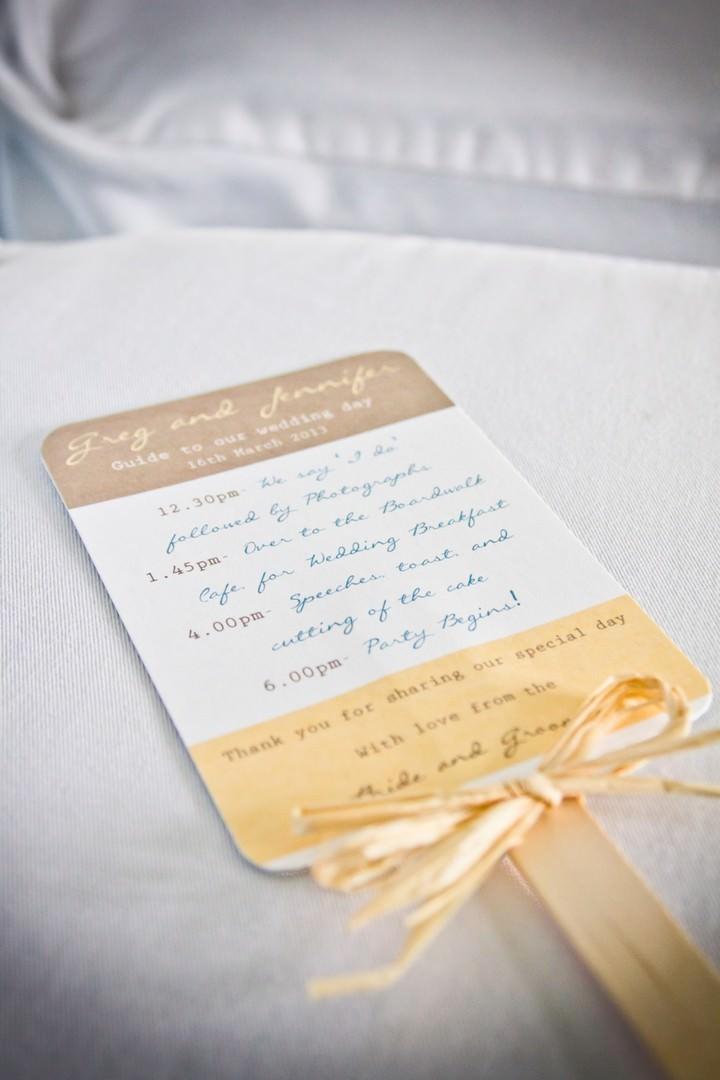 wedding programe