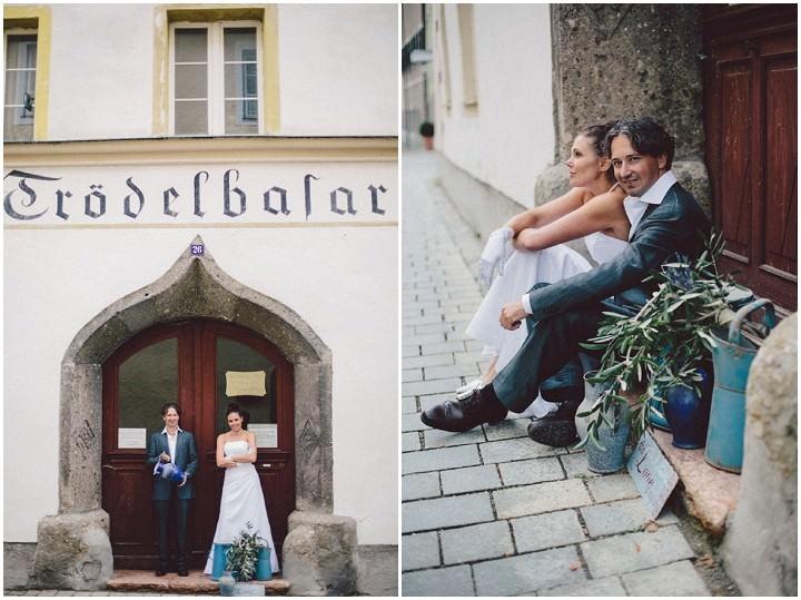 Natural Wedding couple