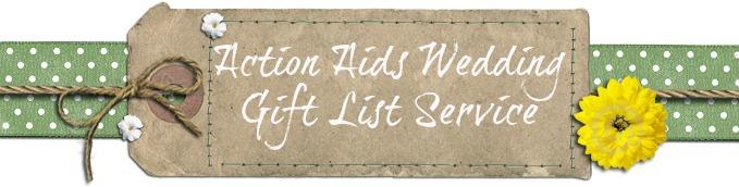 Action Aids Alternative Gift List Service