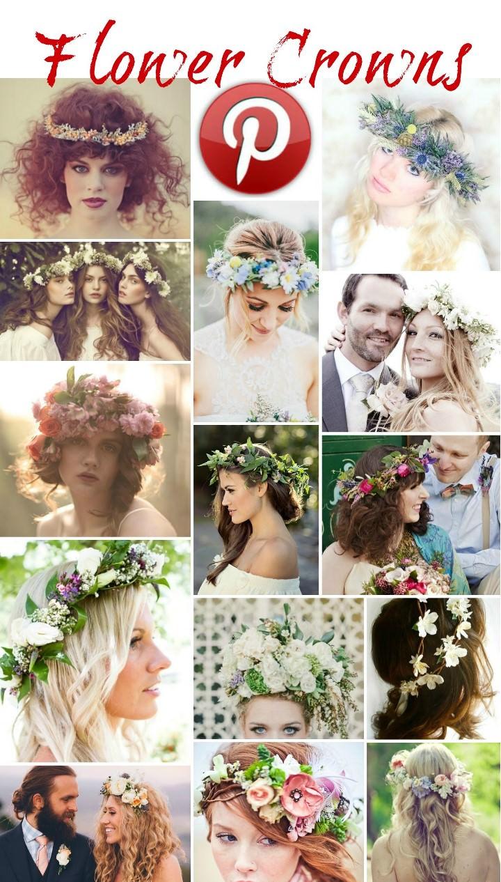 Boho Pins - Flower Crowns
