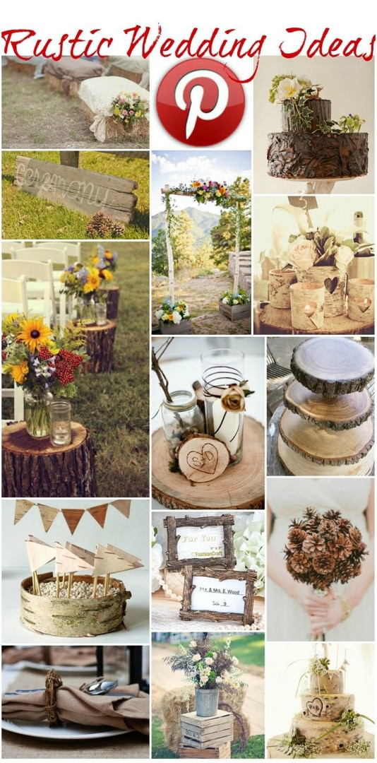 Boho Pins - Rustic Wedding ideas