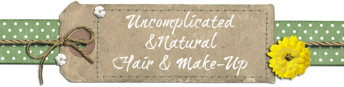 Uncomplicated and Natural Hair and Make-Up