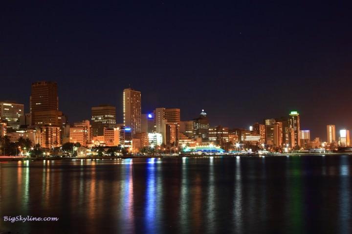 Skyline-Durban-South-Africa-Night