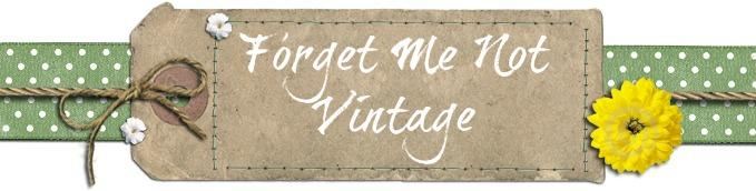 Forget Me Not  Vintage