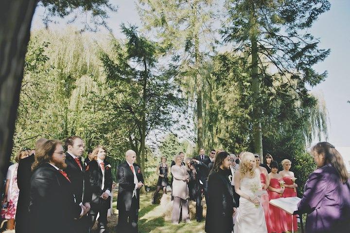 13 DIY Festival Wedding with Handfasting Ceremony