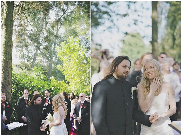 16 DIY Festival Wedding with Handfasting Ceremony