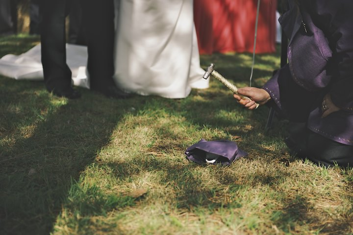 18 DIY Festival Wedding with Handfasting Ceremony