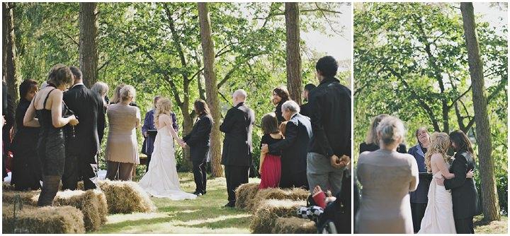 19 DIY Festival Wedding with Handfasting Ceremony