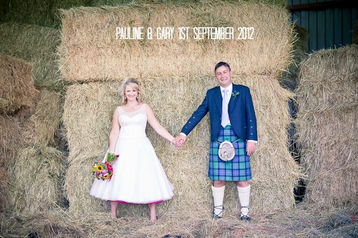 Pauline and Gary's Colourful DIY Farm Wedding. By Nikki Sheffield