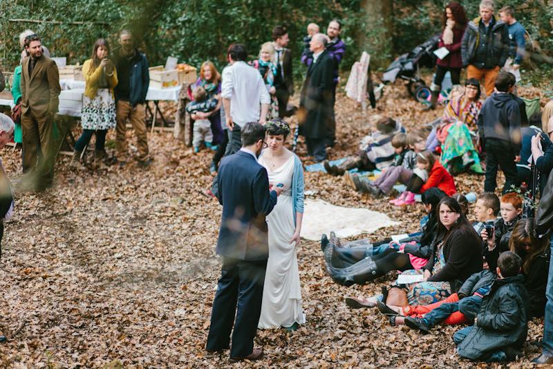 handmade woodland wedding in sheffield boho weddings