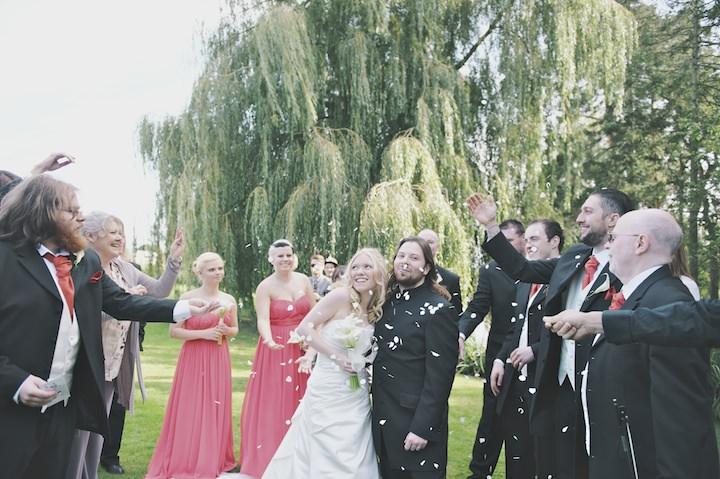 22 DIY Festival Wedding with Handfasting Ceremony