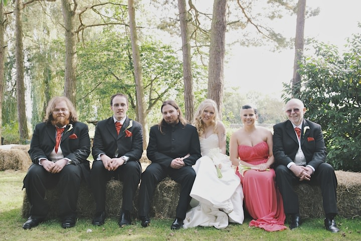 24 DIY Festival Wedding with Handfasting Ceremony