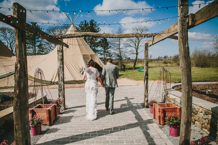 27 Tipi Wedding, With Lots of Handmade and Vintage Elements' By Mark Tierney