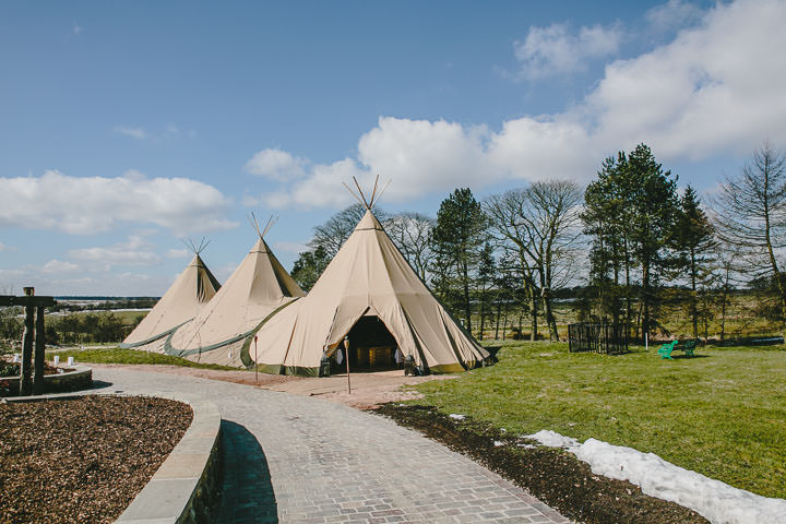 28 Tipi Wedding, With Lots of Handmade and Vintage Elements' By Mark Tierney